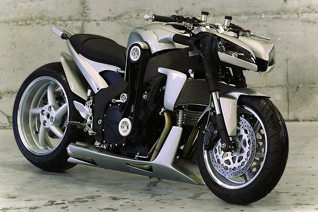 Ludovic Lazareth's custom Yamaha.