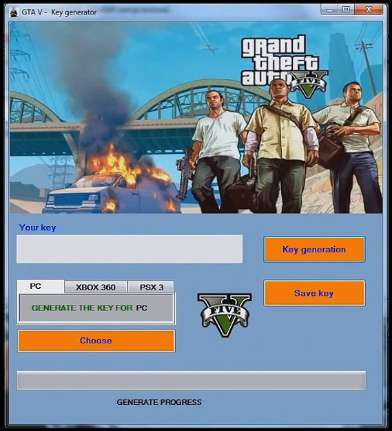gta 5 activation key generator android