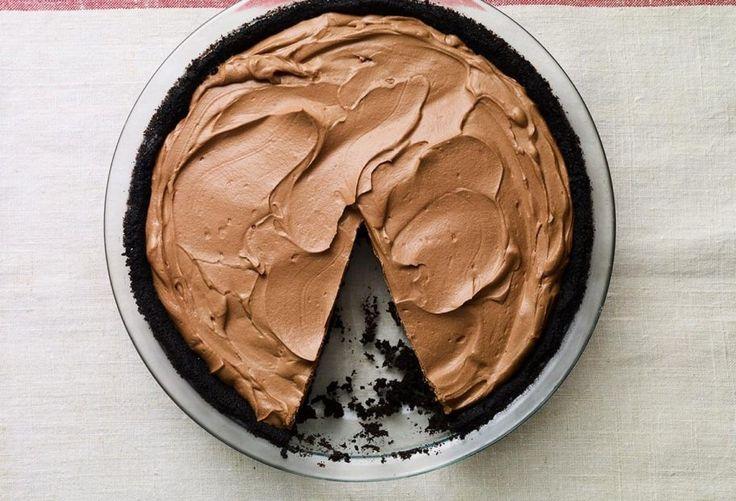 Pati Jinich » No Bake Chocolate Pie
