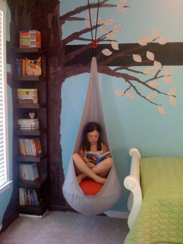 chambre-ado-fille-balançoire-arbre
