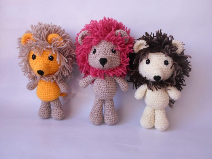 Excited to share the latest addition to my #etsy shop: Lion Amigurumi Crochet Toy Animal http://etsy.me/2i5WAPy #toys #lion #crochet #gift #animal #toy #handmade #orange #brown