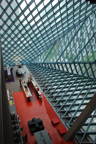 Seattle Central Library. Seattle, Washington. Rem Koolhass. 2004