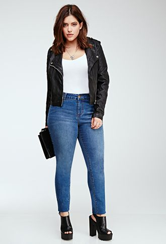 Classic Skinny Jeans | FOREVER21 PLUS | #f21plus