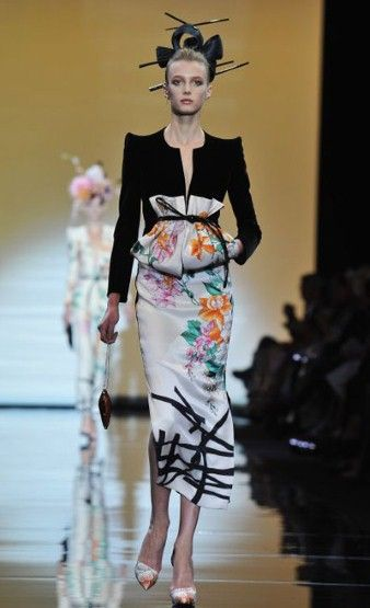 Paris Haute Couture: Armani Prive autumn/winter 2011 in pictures - Fashion Galleries - Telegraph