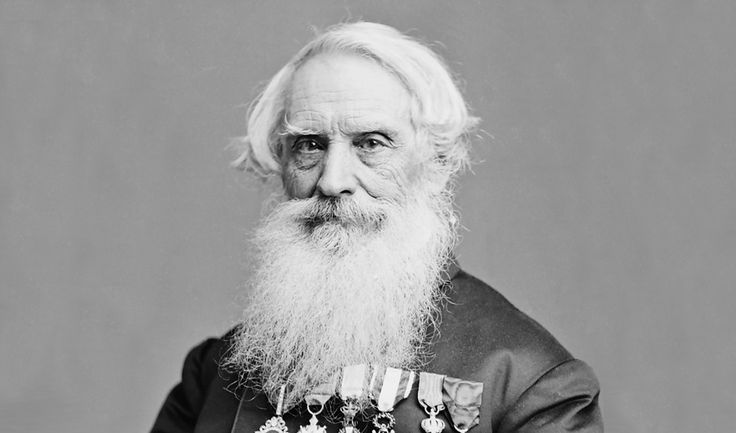 Samuel Finley Breese Morse (April 27, 1791 – April 2, 1872) was an American painter and inventor. After having established his reputation as a portrait painter, in his middle age Morse contributed to the invention of a single-wire telegraph system based on European telegraphs.