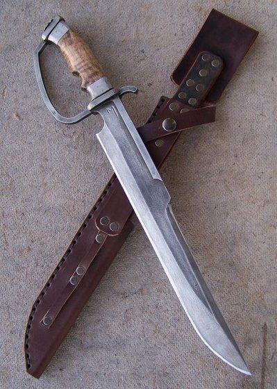 D-guard machete | Thread: Primitive d-guard duelling bowie knife for sale