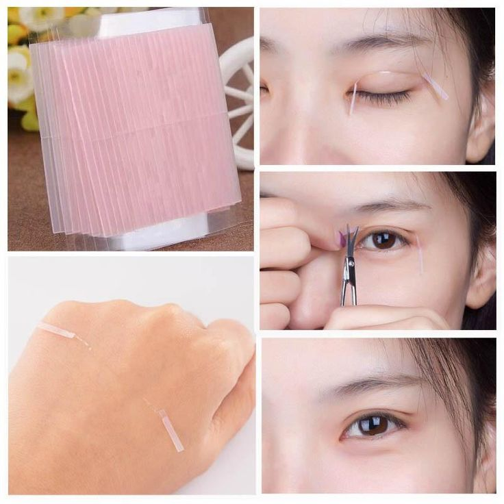 50 pcs Invisible Fiber Double Side Adhesive Eyelid Stickers Technical Eye Tapes M01632