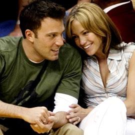 Celebrity Couple: Ben Affleck & Jennifer Lopez, (d. 2002-2004)