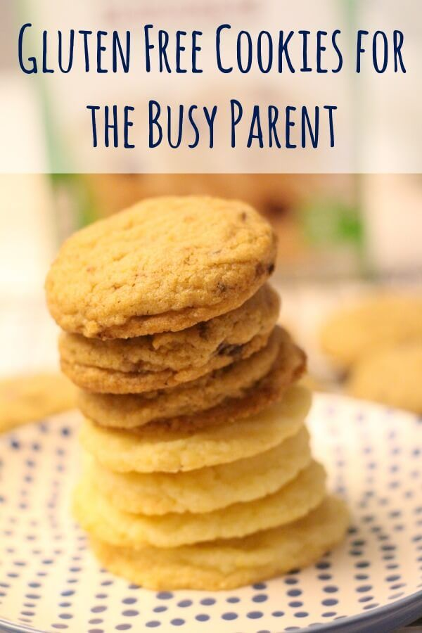 Gluten free cookie recipe for the busy parent!