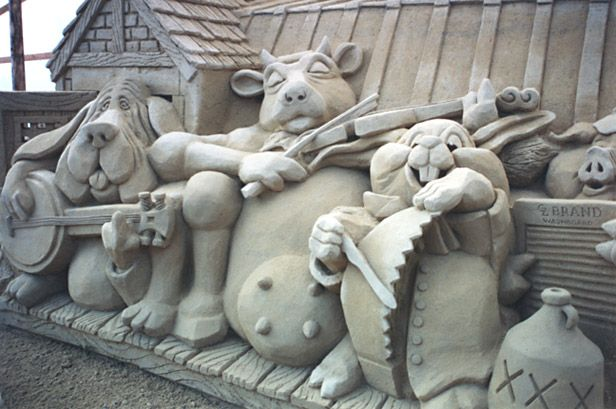 Cool Things | Pictures | Videos: Cool sand sculptures from around the World
