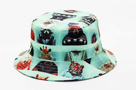 TRAJES sombrero del cubo por happycaps15 en Etsy