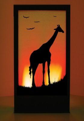 Event Prop Hire: Giraffe African Silhouette Panel