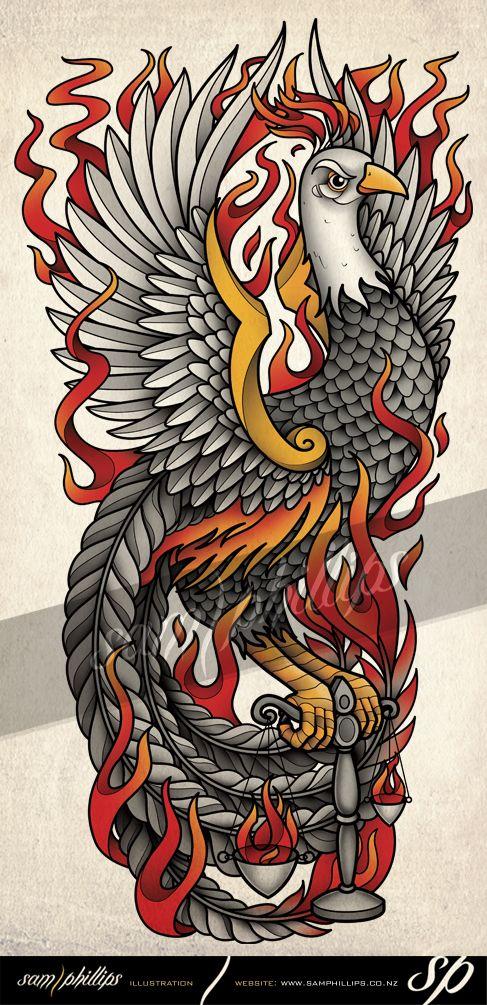 Sams Blog: Pheonix Libra Scales Tattoo