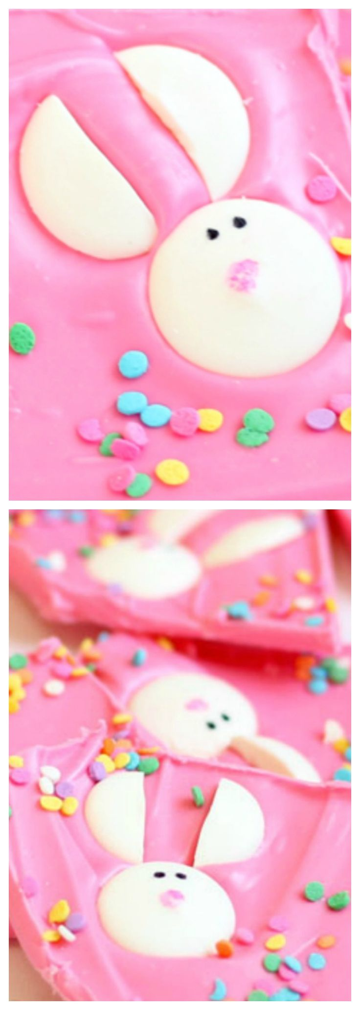 Easter Bunny Bark ~ Cute and easy