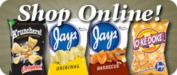 Jay's Potato Chips (Chicago Founded).  Favorite snack!