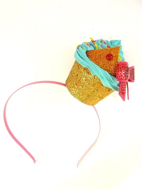 Shopkins Cupcake Queen Headband Great for by StarDustSpark on Etsy