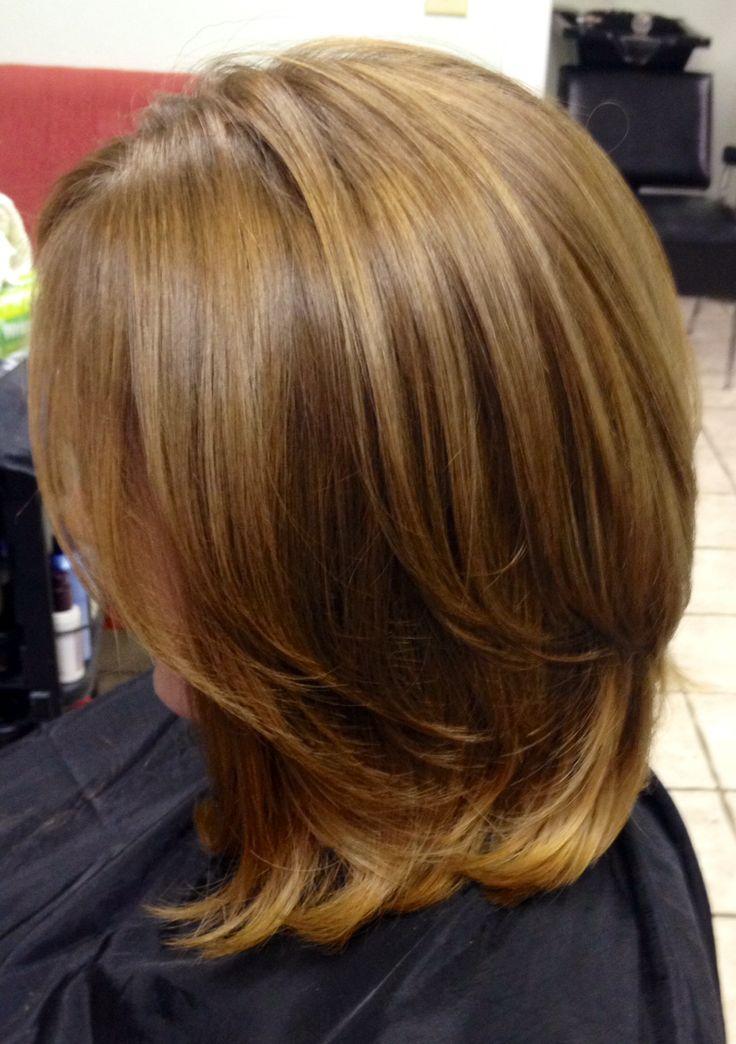 Balayage Light Golden Brown Goldwell Hair Pinterest