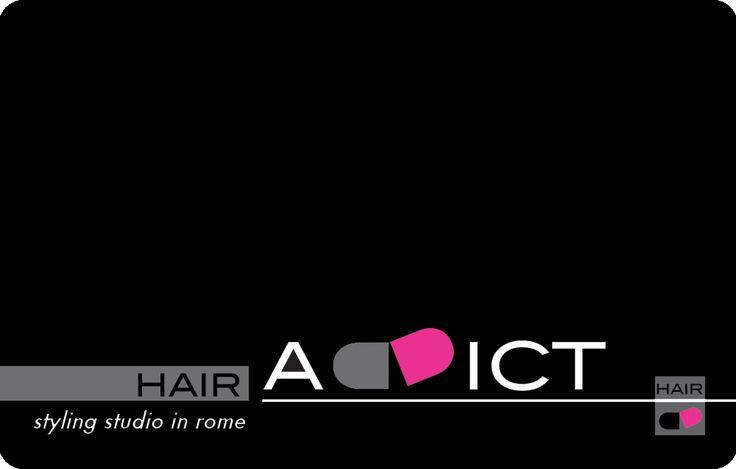 Logo, progetto grafico e naming Hair Addict Studio