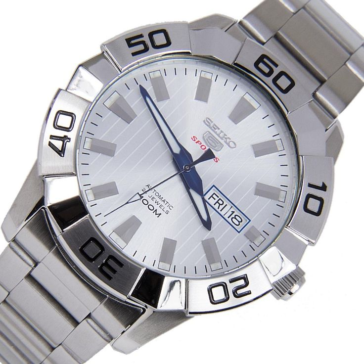A-Watches.com - Seiko 5 Sports Analog Silver Dial Stainless Steel Case Automatic Gents Watch SRPA49K1 SRPA49, $159.00 (https://www.a-watches.com/seiko-5-sports-analog-silver-dial-stainless-steel-case-automatic-gents-watch-srpa49k1-srpa49/)