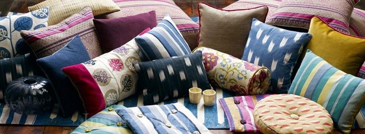 Sanderson ethnic cushions