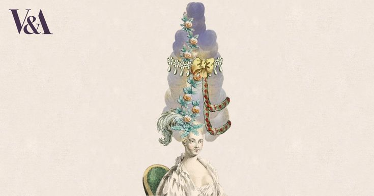 I created my own 18th-century wig with Design a Wig from the Victoria and Albert Museum