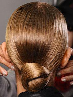 #veronikamaine #office #inspiration #summer13 #hair #bun #sleek