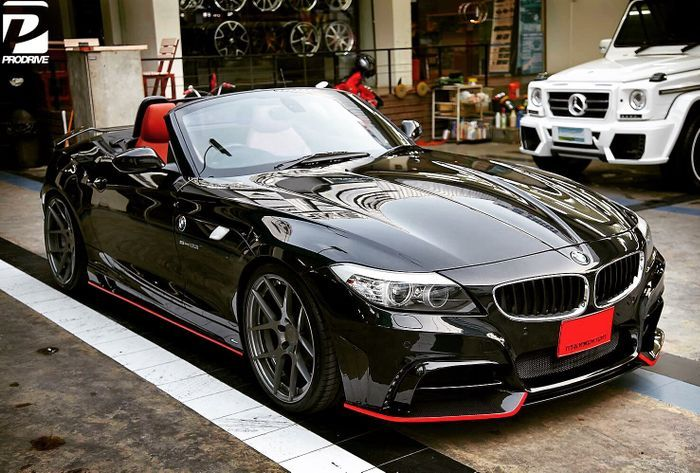 Rowen Z4 E89 With Eisenmann Quad Exhaust Cars Bmw Cars Bmw Z4
