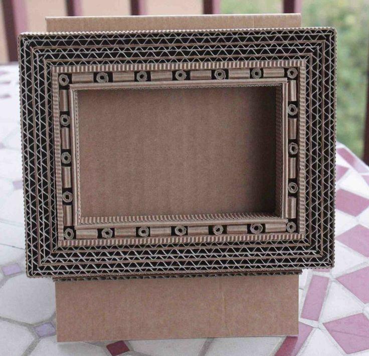 Les 25 meilleures id es de la cat gorie cadre en carton sur pinterest papier cadre photo - Fabriquer cadre photo carton ...