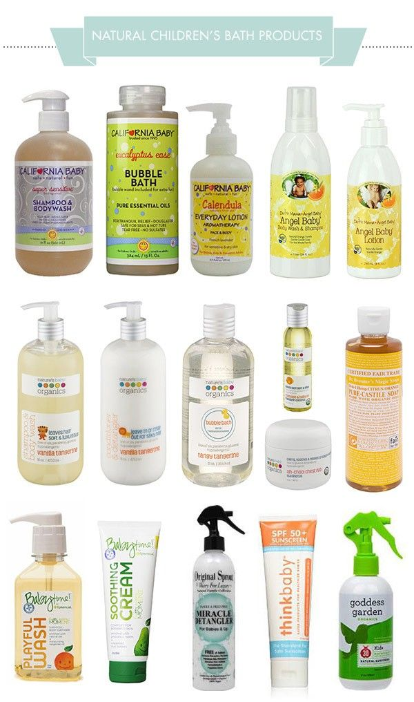 Earth Mama Angel Baby's products are some of the most natural on the market, and almost all their products score a 0 on the EWG website. We're currently using the Body Wash & Shampoo which I love because it comes in a big bottle with a pump, and it's foaming. I have an obsession with foaming soaps! via @hellobee