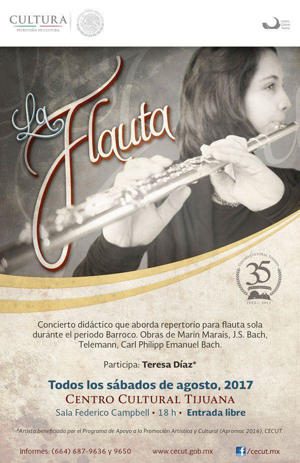 Concierto didáctico que aborda repertorio para flauta sola durante el periodo Barroco.