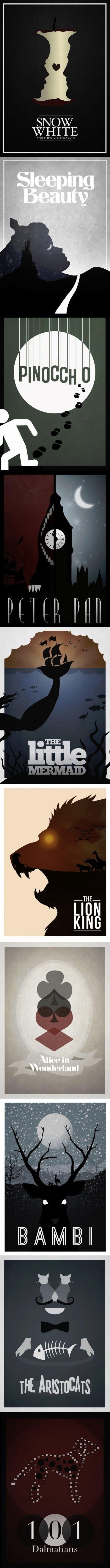 Love this! Disney Minimalism