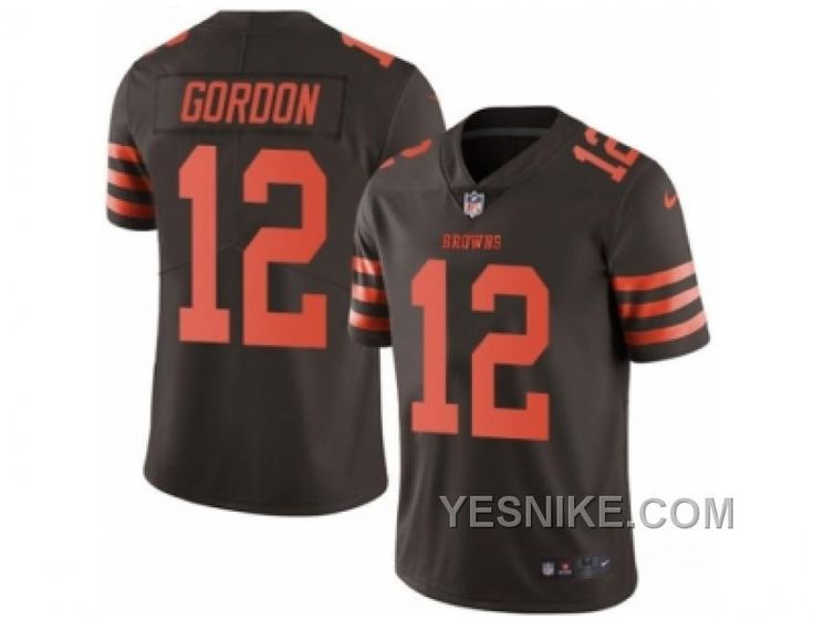 http://www.yesnike.com/big-discount-66-off-mens-nike-cleveland-browns-12-josh-gordon-limited-brown-rush-nfl-jersey.html BIG DISCOUNT ! 66% OFF ! MEN'S NIKE CLEVELAND BROWNS #12 JOSH GORDON LIMITED BROWN RUSH NFL JERSEY Only $26.00 , Free Shipping!