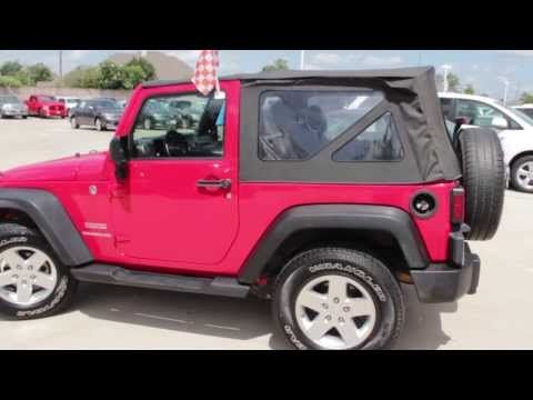 We have another fresh to the lot pre-owned walk around video. Check out this 2011 pre-owned Jeep Wrangler Sport!