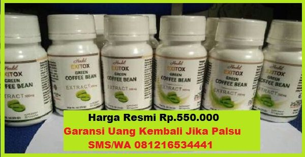 harga exitox,exitox green coffee