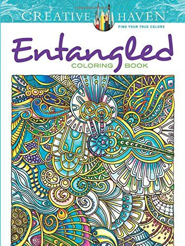 Booktopia Has Creative Haven Entangled Coloring Book Books By ANGELA PORTER Buy A Discounted Paperback Of