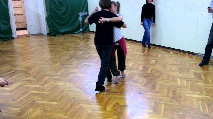 Tango lesson: Como bailar Vals - Giros con Sacadas.