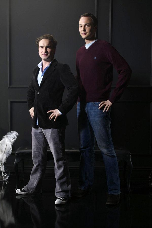 Sheldon with Leonard. http://www.iqcatch.com/