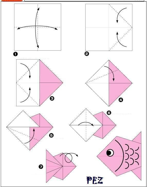 9 manualidades fáciles de papel ¡para principantes en origami!