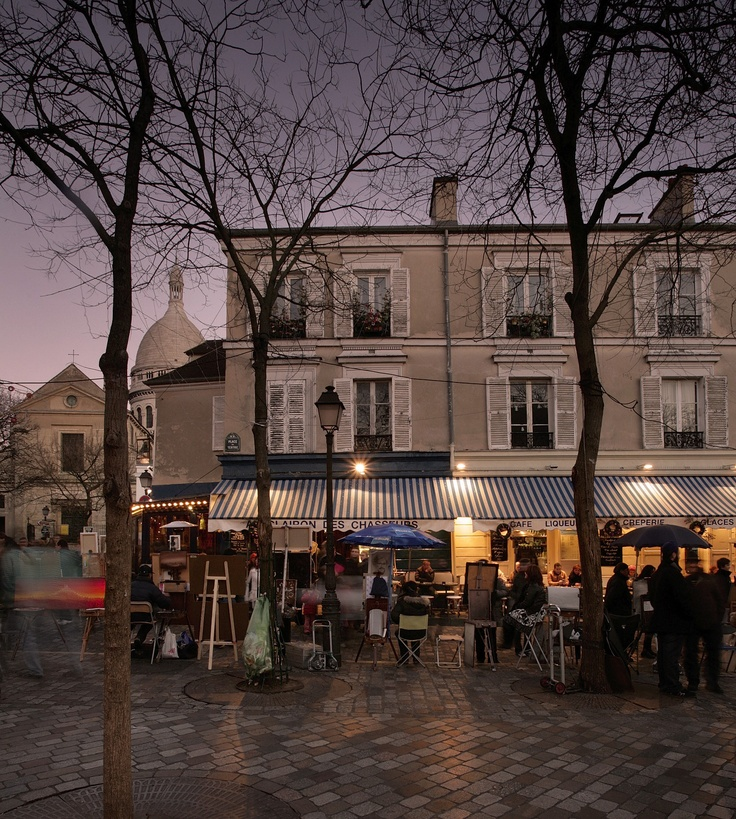 Stills Photo Tours - David Still - Paris     Montemartre Square