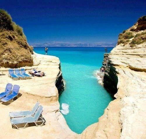 Enjoy Pictorial Tour To La Grotta Cove Corfu Island Greece