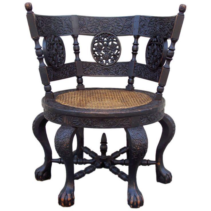 Dutch East Indies Burgomaster Chair