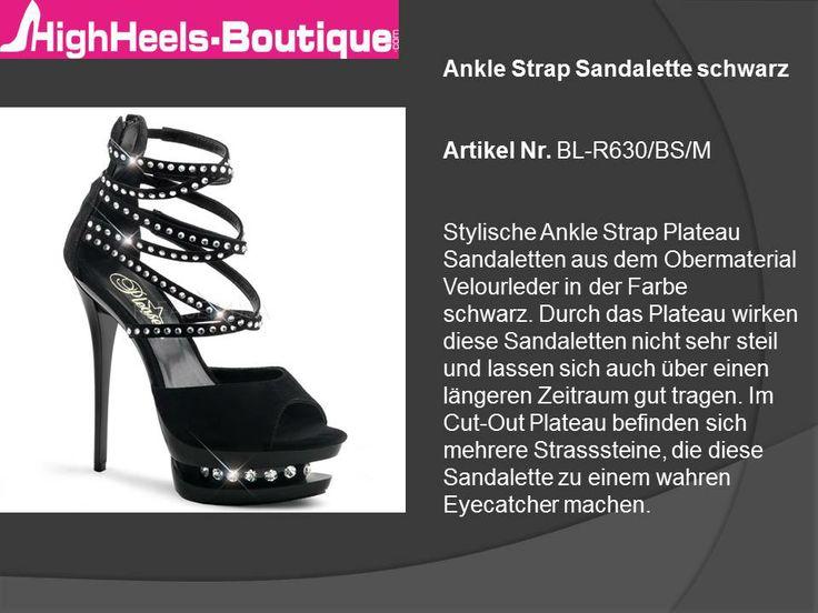 Sandaletten sind der ideale Schuh für den Sommer aber auch für die Ballsaison im Winter. Sandaletten sind ein Must-Have und perfektes Accessoire für die Frau von heute. Besonders gut lassen sich Sandalen zu Kleidern und Strandoutfits kombinieren. Besondere Hingucker bei Sandaletten sind Schleifchen, Strasssteine und Riemchen. Für alle Modebewussten bietet www.HighHeels-Boutique.com beste Qualität und eine große Auswahl im Bereich Sandaletten.