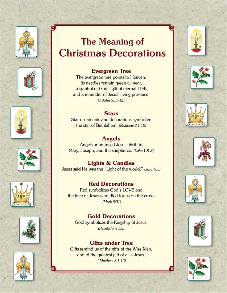 Learning the meaning of Christmas tree ornaments will add a special touch to your family tradition of decorating your tree and celebrations of the birth of Jesus.