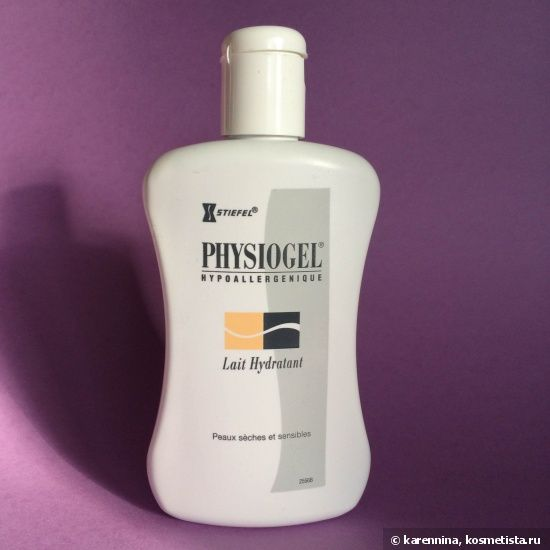 Stiefel Physiogel Lait Hydratant — Увлажняющий лосьон Физиогель для сухой и чувствительной кожи тела #body