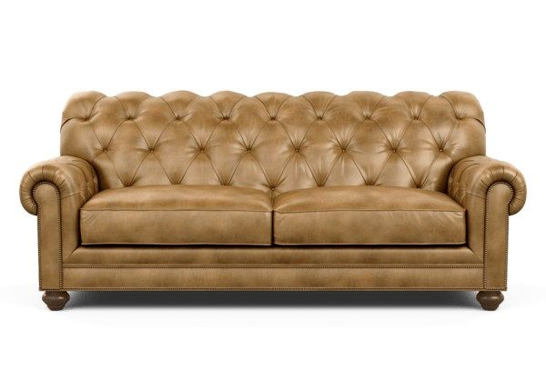 Chadwick Leather Sofa Leather Sofa Tufted Sofa Chesterfield