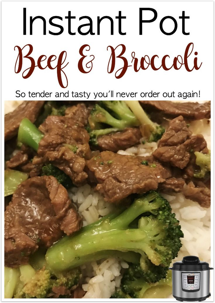 Obviously I'm still loving our Instant Pot.  It's becoming an every day thing and our favorite appliance. We're learning what works and doesn't too – very slowly. Tonight we tried one of our favorite order-out Chinese food dinners – beef and broccoli. This was delicious and SO tender. Not chewy like some take-out can be. … Read more...
