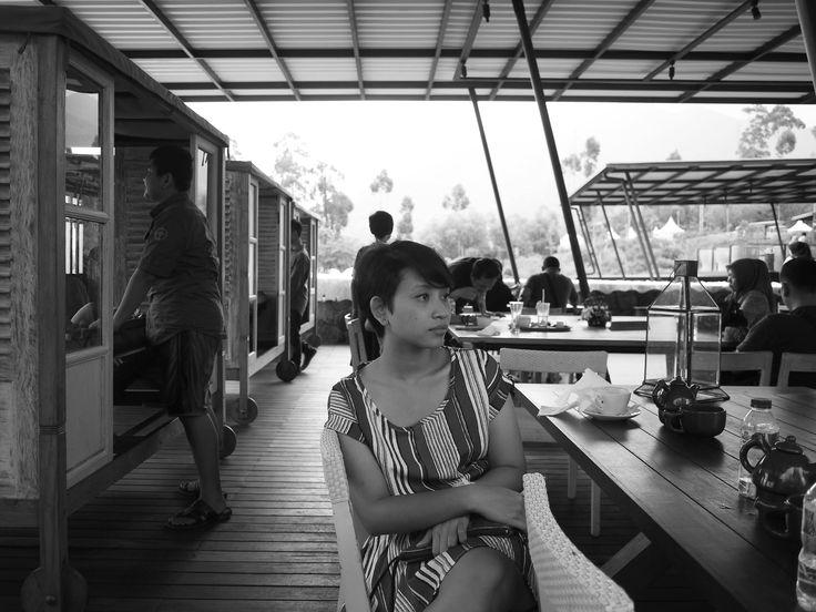 Anne at Bandung, Jan 2016