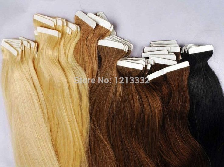 Coupon Hot Queen 5A Products Seamless Double Drawn Skin Weft Tape In Hair Extensions 50g Pure Color Tape In Human Hair Extension