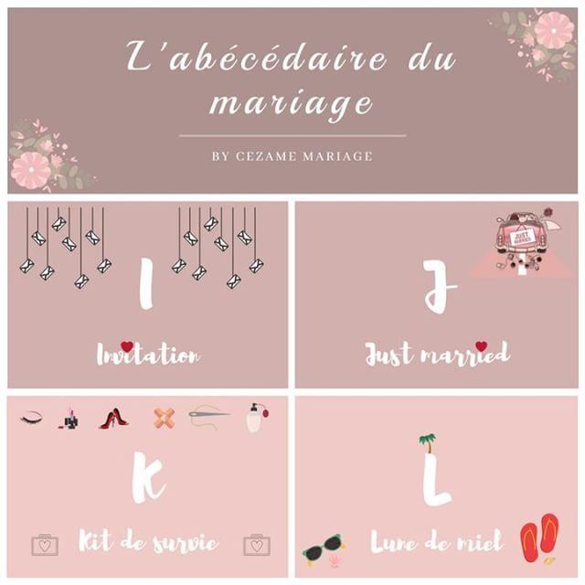 Voici L Abecedaire Du Mariage De Cezame Mariage Commentez Vos Idees Http Bit Ly 2wblquc Wedding Organisation Mariage Mariage Future Mariee