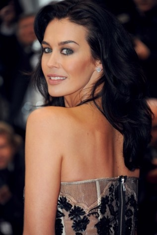 Megan Gale at the Cannes Film Festival.